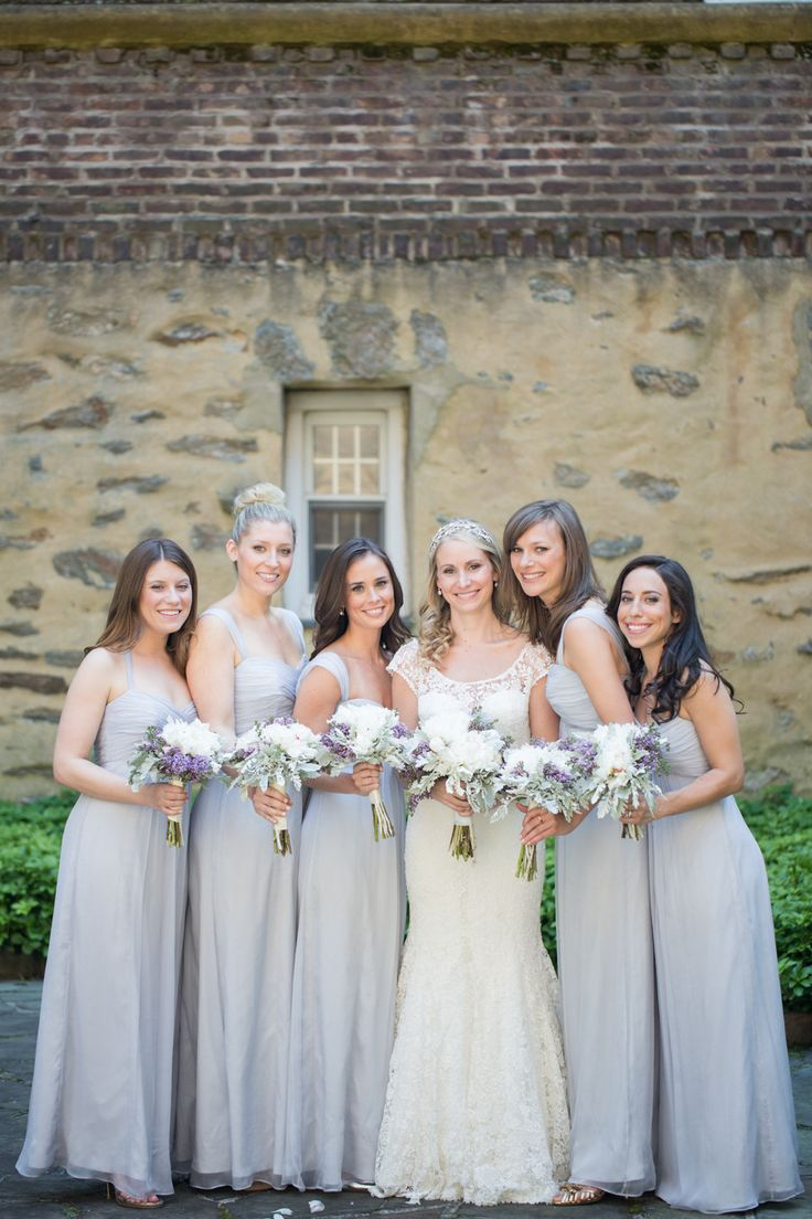 Bridesmaid Dresses: #Amsale from @Erin Duncan Bridesmaid  | Kelsey Combe Photography | See the wedding on SMP: http://www.stylemepretty.com/new-york-weddings/westchester/2013/12/18/shenorock-shore-club-wedding/