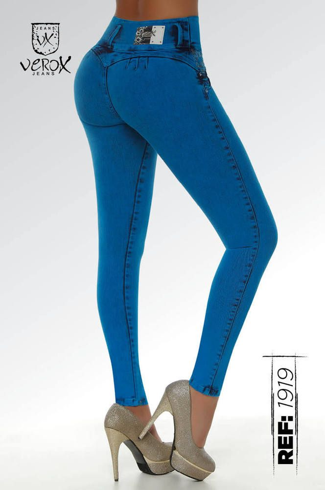 Verox Jeans colombianos butt lifter fajas colombianas jeans levanta cola 1919 #VeroxJeans #SlimSkinny