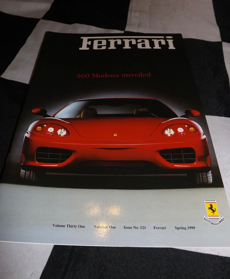 FERRARI OWNERS CLUB MAGAZINE SPRING 1999 121 FERRARI 250 MM 360 MODENA 512 BB LM