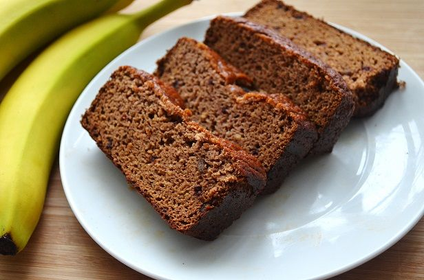 Banana Bread Deluxe - SO GOOD. Omitted the honey, added cinnamon, used ...