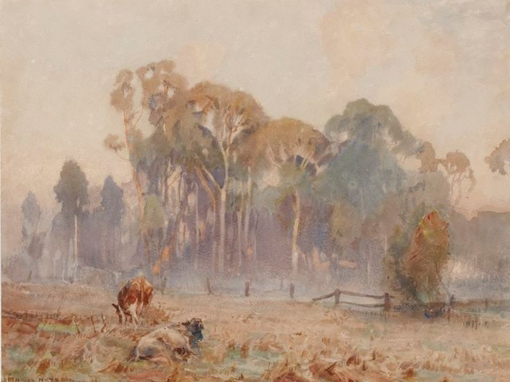 Landscape, Sir Hans Heysen, 1919, Art Gallery of NSW