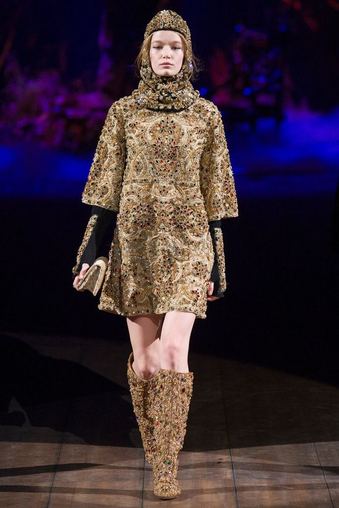 Dolce & Gabbana Fall Winter 2014-2015 #FW14 #MFW