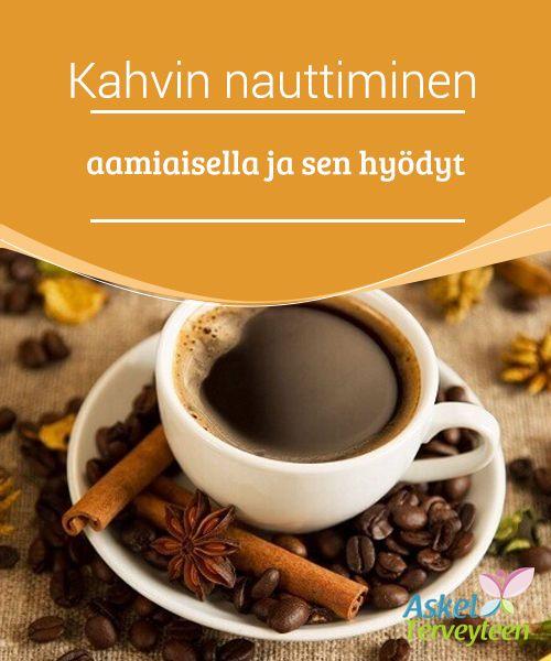 Kahvin nauttiminen aamiaisella ja sen hyödyt   Juotko sinä #kupillisen kahvia #aamulla ennen töihin lähtöä? Se voi olla hyvä tai huono tapa, #riippuen siitä mitä kahvin kanssa syöt.  #Terveellisetelämäntavat