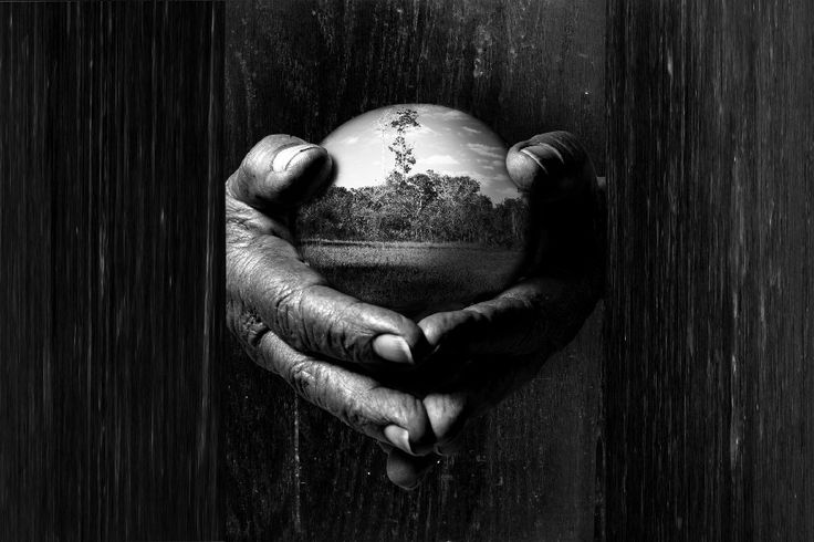 Старые руки С Землей Плакат Шелковые Ткани Цифровой Черно-Белой Печати Плакатов Большие Фотографии На Стене Для Украшения Дома
