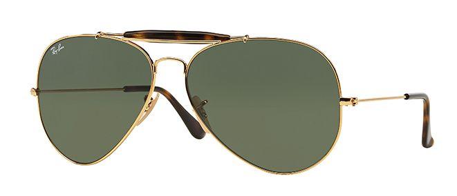 Ray-Ban 3029 Outdoors Man Aviator Sunglasses
