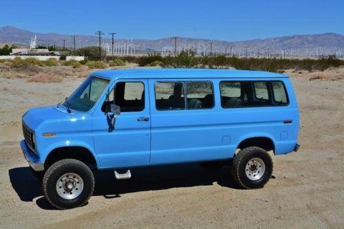 1981 Ford E-Series Van FORD E250 QUADRAVAN W/PATHFINDER 4X4 CONVERSION photo 1…