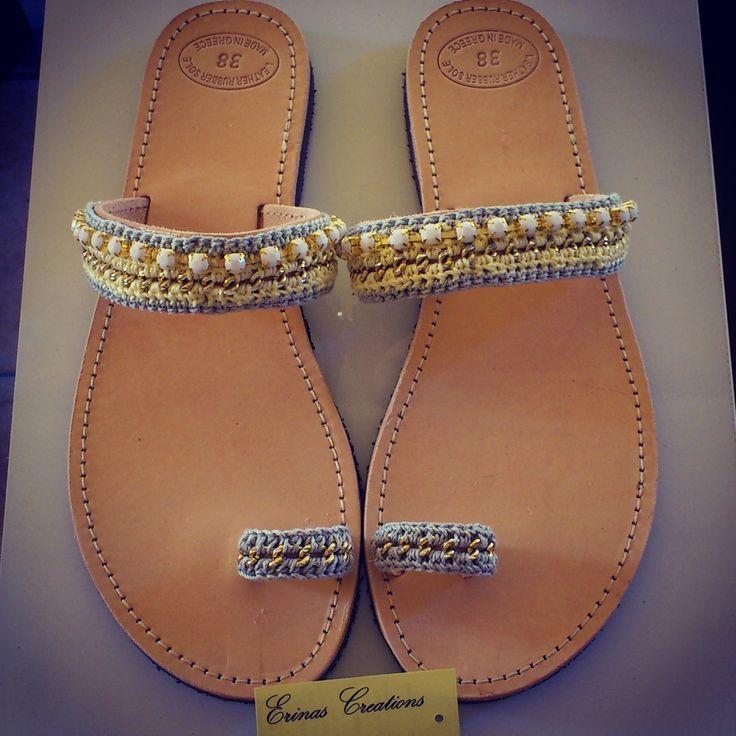 """Lemonaki"" Handmade Sandals"