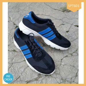 Sepatu Sport Adidas Blue Pria/Wanita