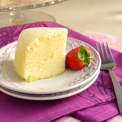Very light and airy cheesecake
