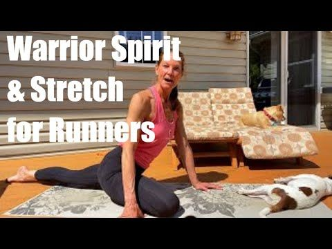 warrior flow  stretch for runners  youtube in 2020