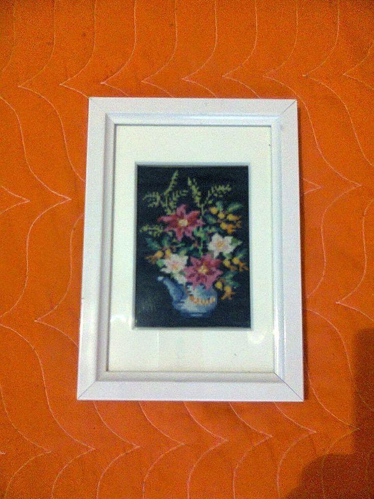Adriana  Hobby: Goblenul pentru toţi -  goblen  vază cu flori
