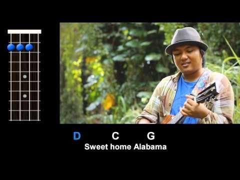 """▶ """"Sweet Home Alabama"""" (Lynyrd Skynyrd) - Ukulele Play-Along! - YouTube"""