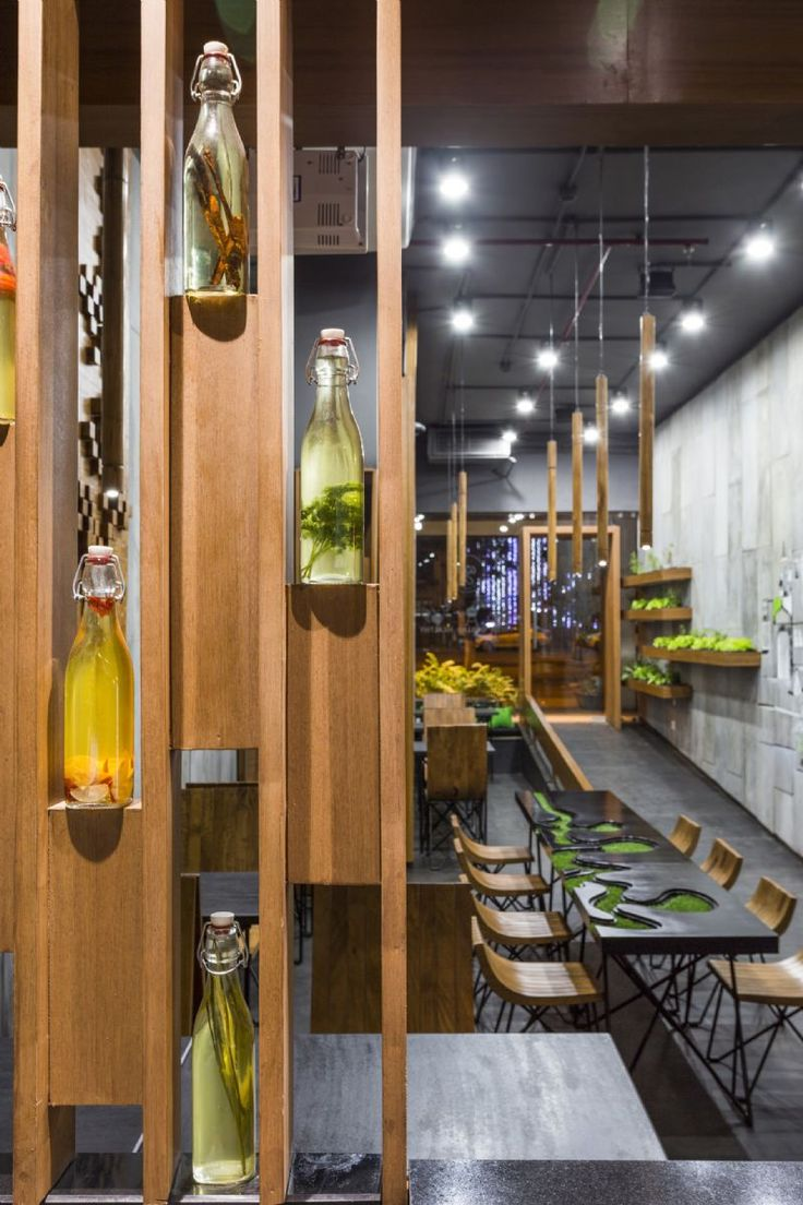 Contemporary Interior Design Abstract Painting Projem Dergisi Kent Dokusuyla Tasarlanan Aja Restoran