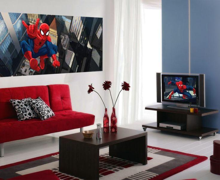 Superhero Wall Murals 20 best spiderman wall murals - spiderman wallpaper murals - boy's