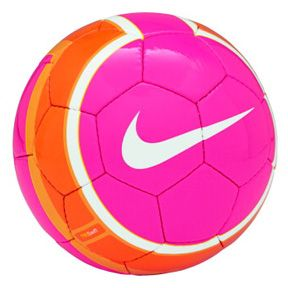 Nike Soccer Ball #Pink#White#Orange