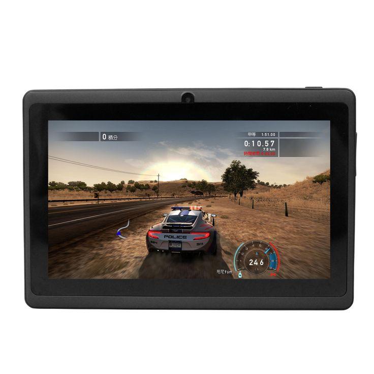 Yuntab 7 inch Q88 Allwinner A33 Quad Core 512MB/ 8GB  Android 4.4. Kids Tablet PC HD Screen Dual camera #Affiliate
