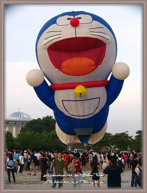 Doraemon Hot Air Balloon - MyBalloonFiesta