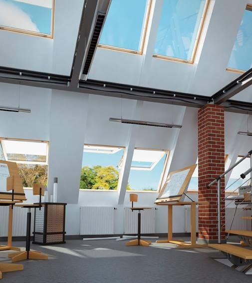 Grazie all'angolo di apertura fino a 68°, la nuova #finestra da #tetto #panoramica FEP consente la massima visibilità verso l'esterno! #luce #casa #benessere #ottimismo