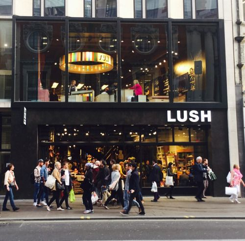 World's biggest Lush store, Oxford Street