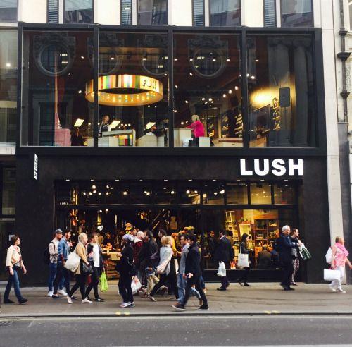 World's biggest Lush store, Oxford Street