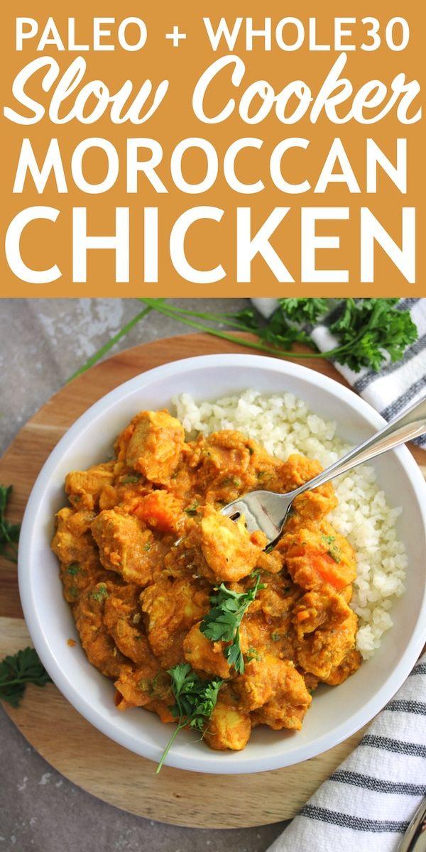 Just Jessie B: Slow Cooker Moroccan Chicken | PALEO, Whole30