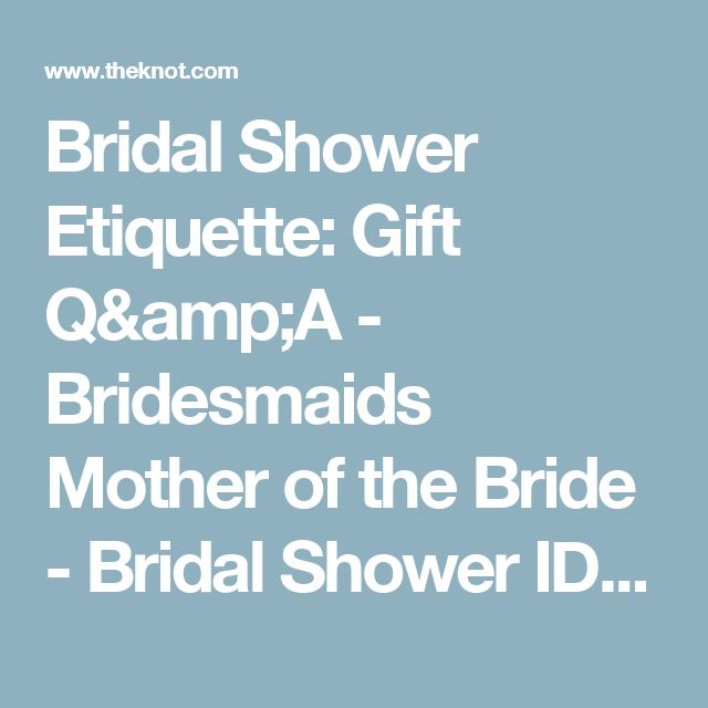 17 Best Ideas About Mother Of Bride Gifts On Pinterest