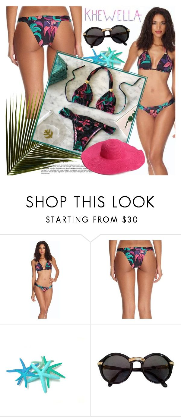 """""""KHEWELLA"""" by gaby-mil ❤ liked on Polyvore featuring In Harmony, Cartier, beach, bikini, shop and khewella"""