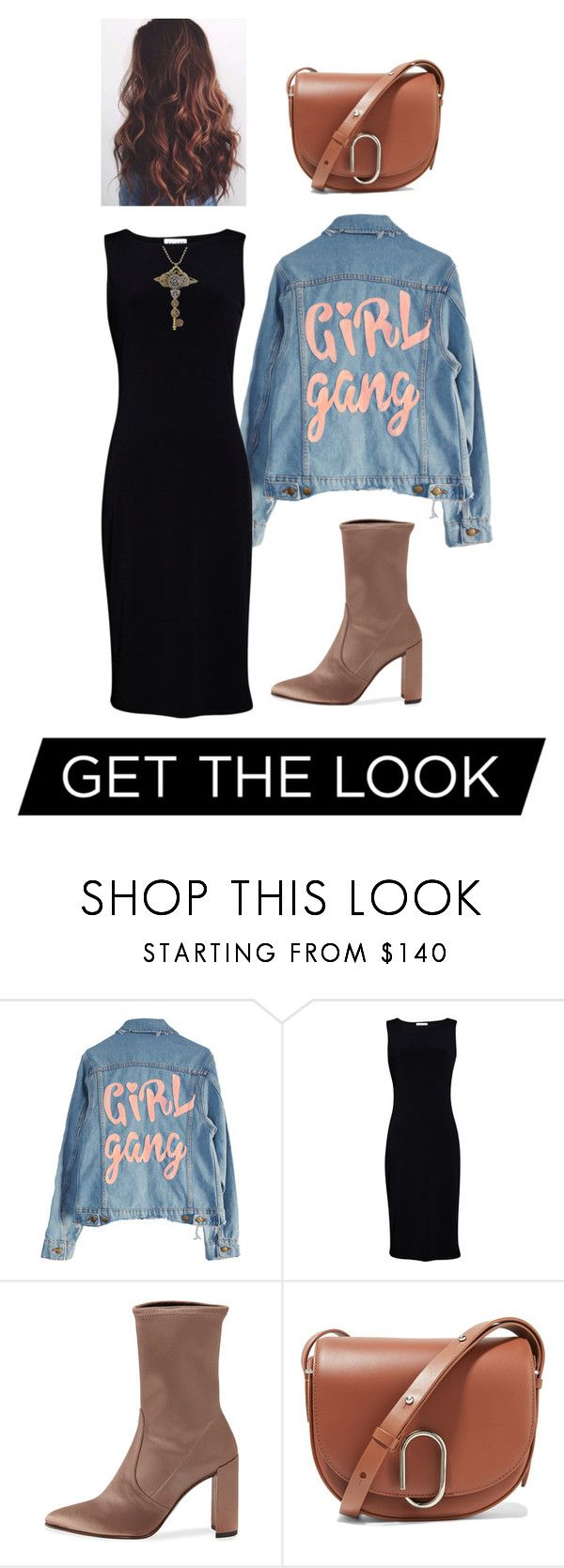 """#56"" by gitagiza ❤ liked on Polyvore featuring Velvet by Graham & Spencer, Stuart Weitzman and 3.1 Phillip Lim"