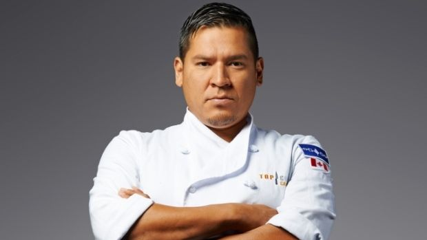 Chef Richard Francis takes aboriginal cuisine down new road -- Chef Rich Francis who operates his own culinary business on the Six Nations reserve in Ontario will compete on the Top Chef TV show in March, in hopes of revolutionizing what is known as Canadian cuisine. (Top Chef Canada )
