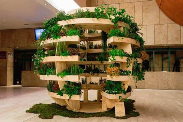 Águas de Pontal: Esta horta esférica traz a natureza de volta para ...