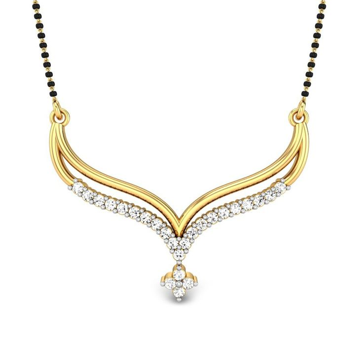 Indian Gold Jewellery Necklace Sets Google Search: Mangalsutra Chain - Google Search