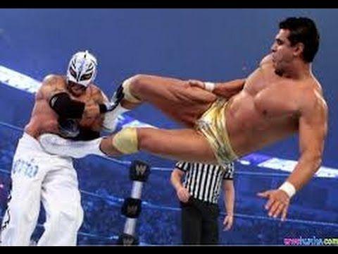 Rey Mysterio vs Alberto Del Rio WWE Royal Rumble 2011