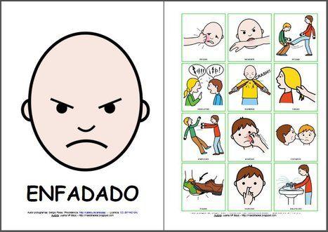 pictogramas emociones arasaac - Buscar con Google