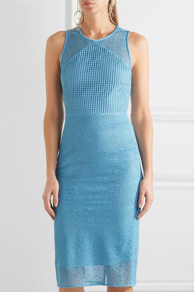 Diane von Furstenberg | Paneled lace dress | NET-A-PORTER.COM