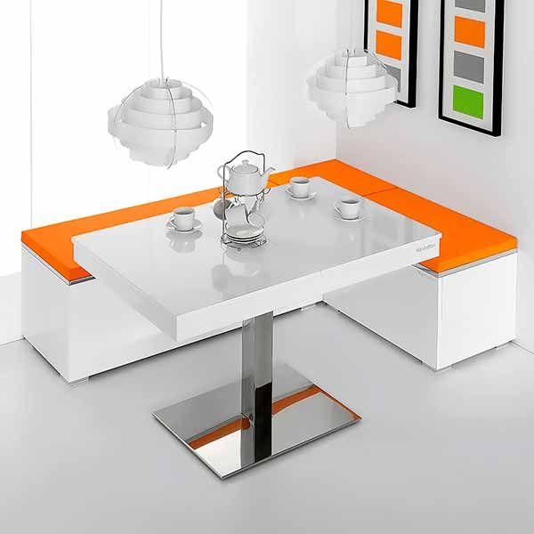 Bancos para cocina esquineros y modulares. Los bancos para cocina son la mejor alternativa para optimizar la comodidad, confort y usabilidad, integrando cocina y comedor en un solo ambiente.  Este tipo de muebles modulares, son capaces de aprovechar el espacio como ningún otro. Además, en el mercado hay infinidad de diseños, texturas, acabados y colores. Sigue leyendo en https://www.bricoblog.eu/bancos-para-cocina-esquineros-y-modulares/ #Mobiliario #Cocinas #Diseño #Decoracion