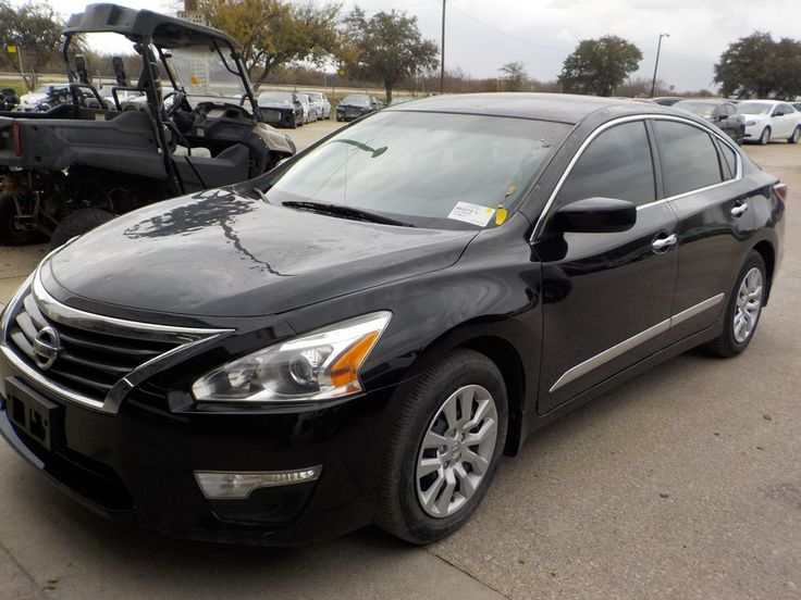 Salvage 2015 Nissan Altima S for Sale in Texas carsales