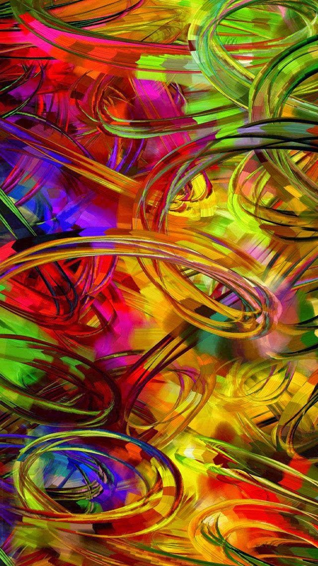 Abstract Colorful IPhone Hd Wallpapers, Iphone Wallpapers
