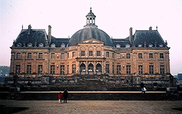Louis  le Vau. Palacio de Vaux-le-Vicomte. 1658-6, Maincy