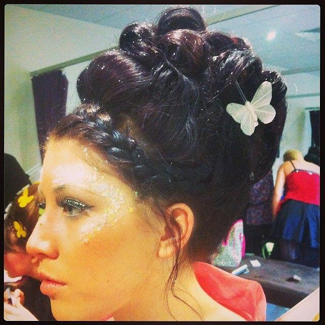 Gorgeous #fairytaletheme hair-do from Charlotte #hair #golson #hairup