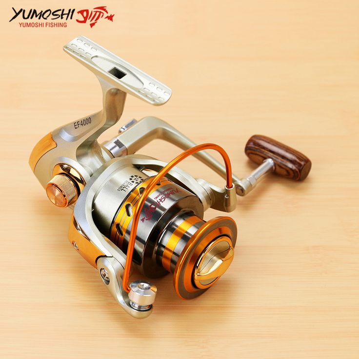 Spinning Fishing Reel Metal Coil 12 Ball Bearing 500-9000 Series Spinning Reel Boat Rock Fishing Wheel carretilhas de pescaria #Affiliate