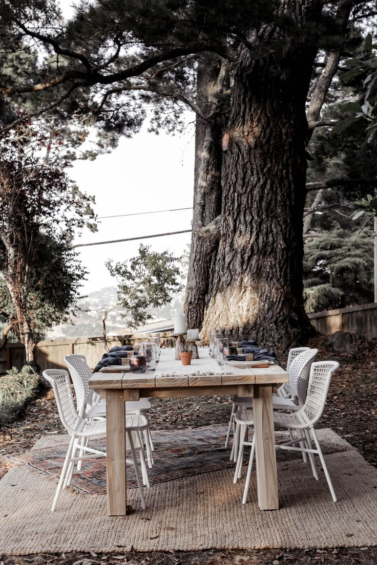 Monte sua my chair - Bohemian Outdoor Dining Area With Article Table And Chairs