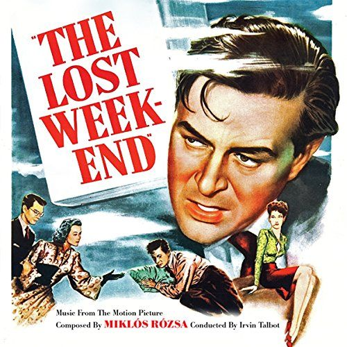 """The Lost Weekend (Music from the Motion Picture):   Academy Award-nominated masterpiece of vintage film scoring makes world premiere release! Recently located 35mm magnetic transfers by Paramount Pictures of nearly every cue scored for 1945 """"Best Picture"""" Oscar winner The Lost Weekend are made available for the first time ever, including never-before-heard alternates, revisions. 1. Prelude (alternate)/New York Skyline (2:14) 2. Don Stays Home/The Weekend Begins (3:47) 3. Rye and Willia..."""
