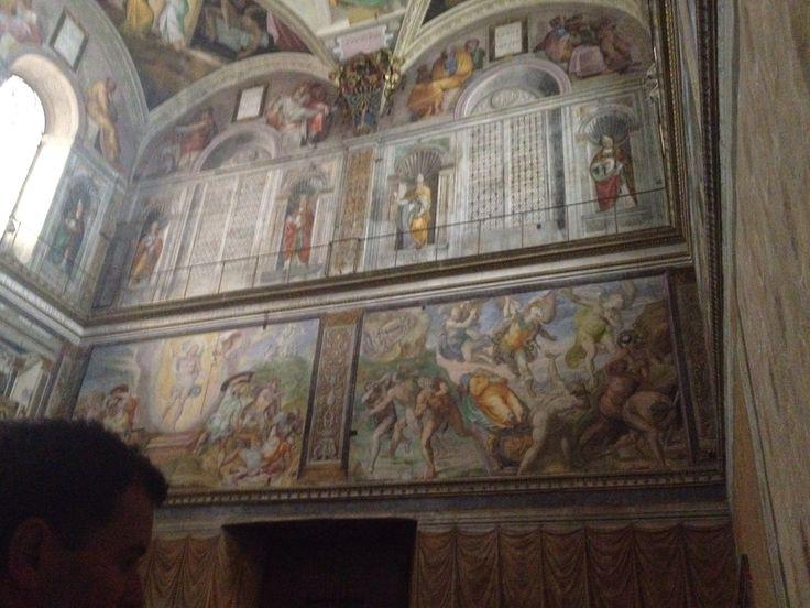 Sistine Chapel Shhh