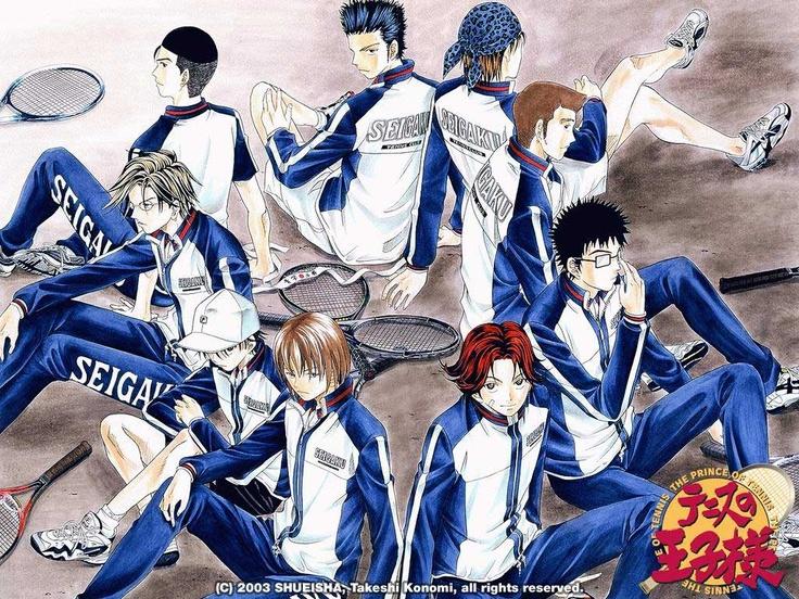 Seigaku Tennis Club #princeoftennis