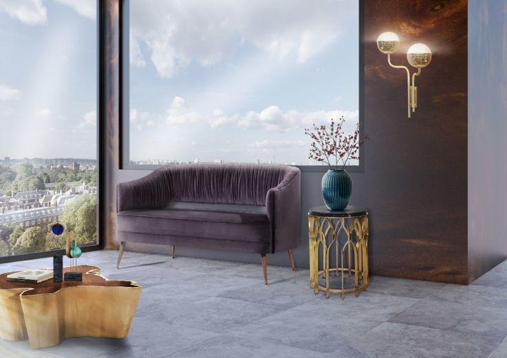 11 Modern Sofas In Incredible Hospitality Design Projects | Velvet Sofas. Living Room Furniture Set. #modernsofas #velvetsofa #smallsofa Read more: http://modernsofas.eu/2017/03/02/modern-sofas-incredible-hospitality-design-projects/