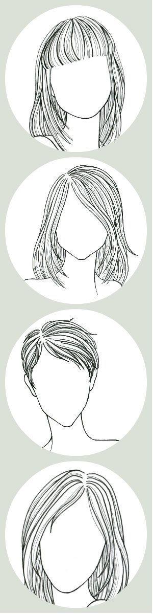 髪のスタイル 2498 漫画の描き方