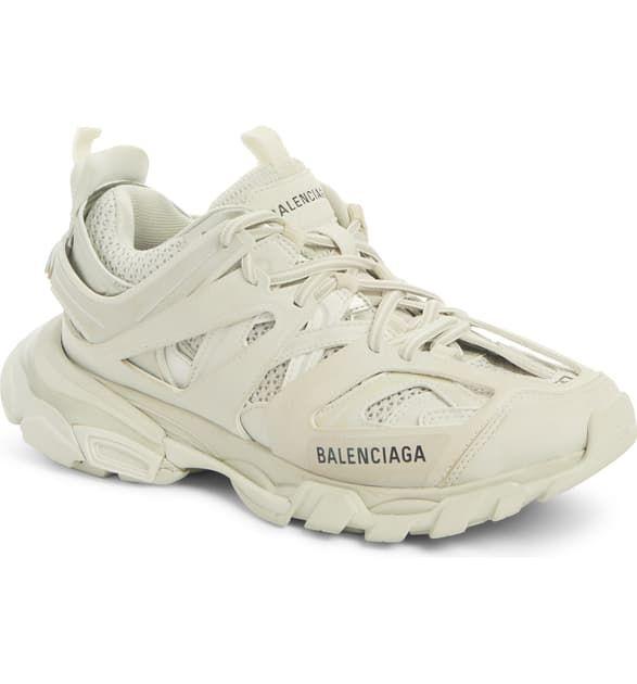 Balenciaga Track Logo-detailed Mesh And