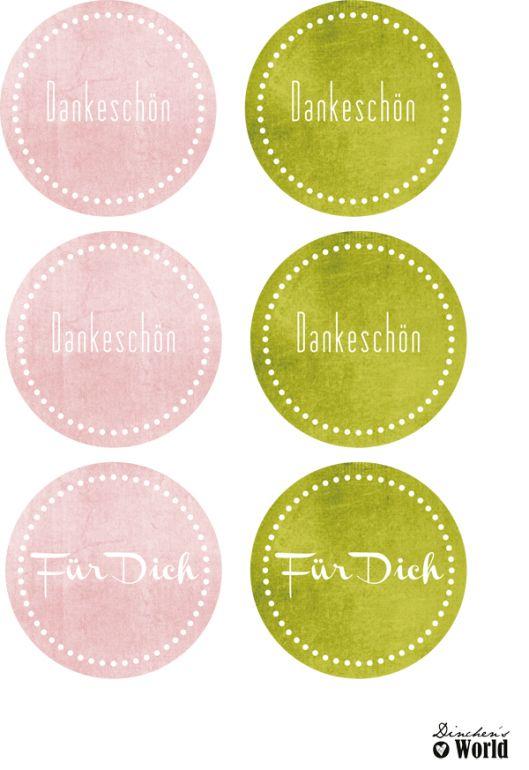 Für Dich printables von http://dinchensworld.wordpress.com