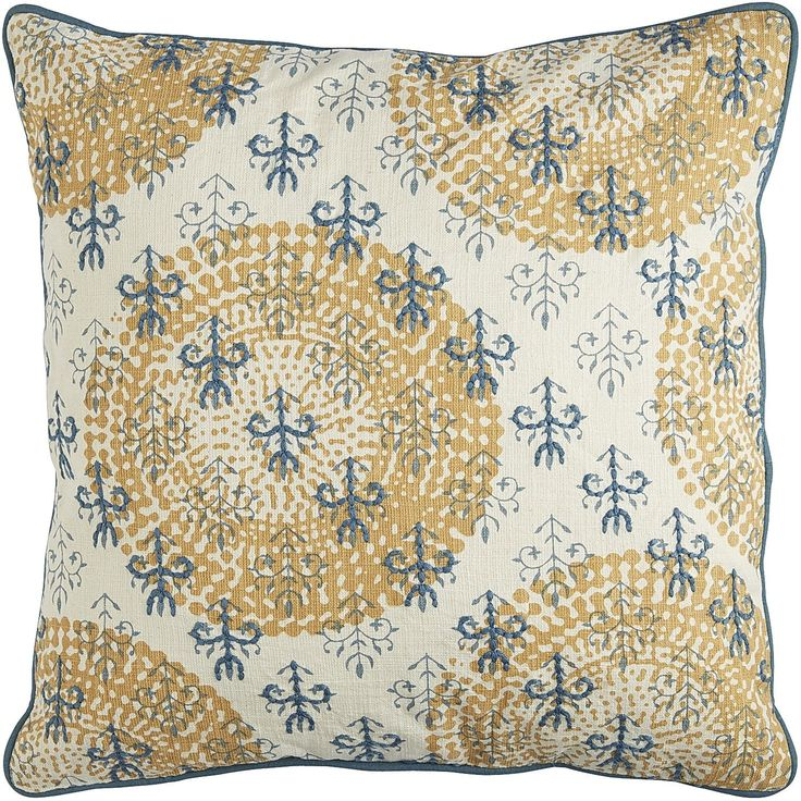 Embroidered Suzani Pillow - Smoke Blue & Honey Pier 1 Imports Sunrise Chic Pinterest ...