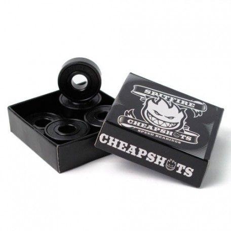 Spitfire Wheels - Spitfire Cheap Shots ABEC 3 Skateboard Bearings
